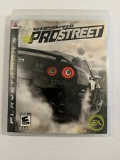 Need for Speed ProStreet (Sony PlayStation 3 PS3 2007) Complete w/ Manual Tested