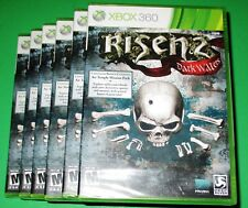 Lot of 6 Risen 2: Dark Waters Microsoft Xbox 360 *Factory Sealed! *Free Ship!