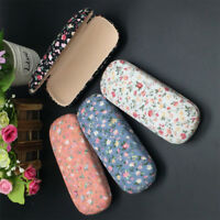 Protable Floral Sunglasses Hard Eye Glasses Case Eyewear Protector Box Pouch Bag