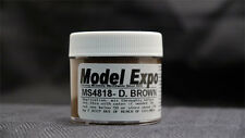 Model Shipways 1oz. Bottle -Deep Brown Paint for Wood Models & Historic Ships