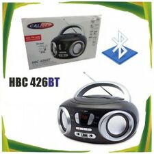 cc Lettore CD Stereo Portatile Con Radio FM Usb Aux Bluetooth Hbc 426bt linq