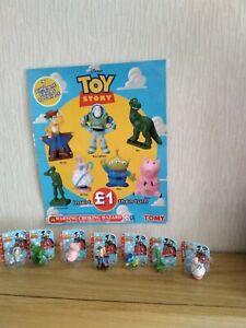 Toy story figures set