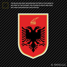 Albanian Coat of Arms Sticker Decal Self Adhesive Vinyl Albania flag ALB AL