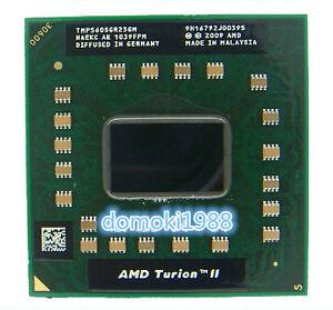 AMD Turion II Duo Core P560 TMP560SGR23GM  2.5Ghz Socket S1 Mobile CPU Processor