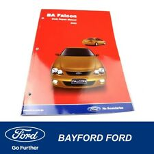 GENUINE FORD - BODY REPAIR MANUAL BA 2003 NEW OLD STOCK