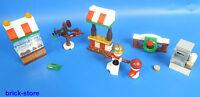 LEGO® City 60133 / Weihnachtsmarkt Stände /  Buden und Zubehör
