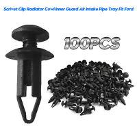 100x 6mm Scrivet Clip Retainer Cover Clip Repair For Ford Falcon Territory A5