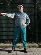 BRAM´S PARIS Cordhose Hose türkis pants 90er True VINTAGE 90s trousers cord NOS