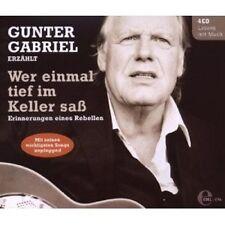 GUNTER GABRIEL - WER EINMAL TIEF IM KELLER SAß  CD NEU