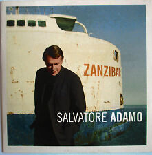 "SALVATORE ADAMO - CD PROMO 14 TITRES ""ZANZIBAR"" - ""CARDSLEEVE"""
