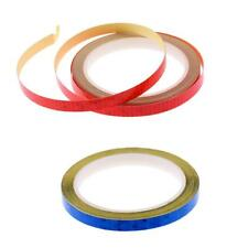 Blesiya 3Meters Reflective Safety Tape Adhesive Sticker for Truck Car Red