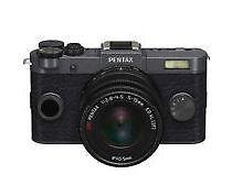 PENTAX Q-S1 02 Zoom Kit 12.4 MP Digital SLR Camera - Black