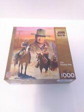 2012 John Wayne The Legendary Collection The Cowboy Way 1000 Pieces Puzzle