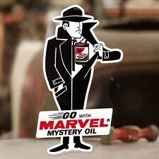 "Marvel Mystery Oil Man sticker decal hot rod rat old school 6"""
