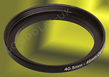 40.5mm-46mm 40.5-46mm 40.5mm-46 40.5-46 Stepping Step Up Filter Ring Adapter