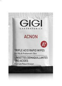 Gigi Acnon Triple Acid Rapid Wipes 30pcs
