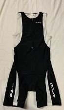 Orca Cycling One Piece Jersey Size Large, Black & White