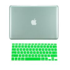 "2 in 1 GREEN Crystal Hard Case  for Macbook PRO 13"" A1278 with Keyboard Cover"