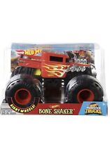 2019 Hot Wheels Bone Shaker #2 Monster Truck 1:24 Diecast Metal Body GIANT WHEEL