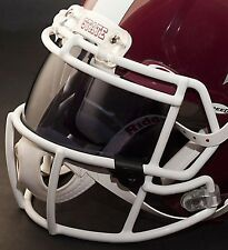 *CUSTOM* MISSISSIPPI STATE BULLDOGS OAKLEY Football Helmet EYE SHIELD / VISOR