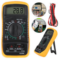 Professional LCD Digital Multimeter Voltmeter Ammeter Current Buzzer Tester