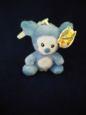Very Rare Mwmt Neopets Blue Harris Mini Plush with Clip 2005