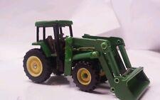 1/64 ERTL custom John deere 7810 tractor with John deere loader farm toy