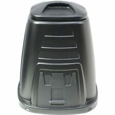 NEW British Made Premium Black Plastic Garden Composter Compost Bin 220 Litre