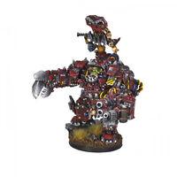 Ork War2 Orc Warchief in Juggernaut Mechanical Armour Kromlech KRM054