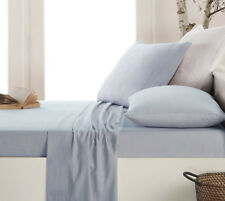 100% Brushed Cotton Thermal Flannelette Flat Sheet in Various Colours