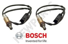 BMW 318i 318ti 750iL X5 1996-2001 Pair of Rear Oxygen Sensors Bosch #13 755 B