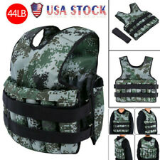 44 lb Weight Vest Training Workout Fitness Exercise Strength Home Gym Equipment