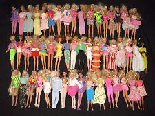 50+ VINTAGE 1960s 1970s 1990s Mattel BARBIE MIDGE Dolls w/ Clothes LOT E