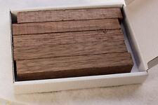 Cinque SPAZI LEGNO DI NOCE NERA PER LA TORNITURA DELLA PENNA e piccoli progetti di tornitura legno -