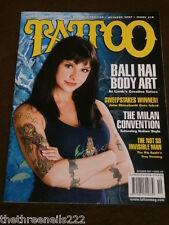 Tatuaje Magazine # 218-Bali Hai Arte Corporal-Oct 2007