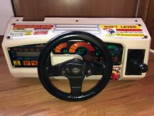 Sega Outrunners Arcade game Steering Wheel control panel Assembly