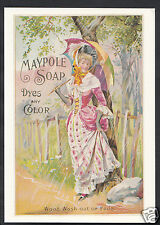 Advertising Postcard - Maypole Soap - Robert Opie Collection A8242