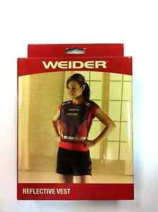 WEIDER REFLECTIVE VEST - Safety - Running - Cycling - Outdoor - Night - Saftey