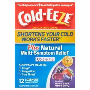 Cold-EEZE® Plus Defense Lozenges Mixed Berry - 12 Lozenges