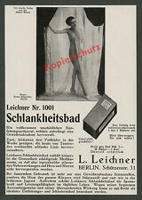 Leichner Schlankheitsbad Erotik Dame Nackttanz Erotik Haller-Revue Berlin 1927