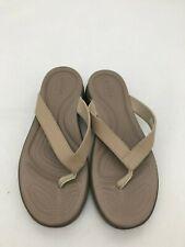 Crocs Women's Sandals: Size 10 W | Tan (SH104)
