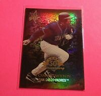 1998 Donruss Prized Collections Gold LEAF Star #365 Tony Gwynn Refractor