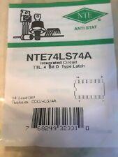 NTE74LS74A TTL INTEGRATED CIRCUIT REPL ECG74LS74A