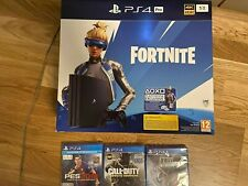 SONY PS4 PRO 1TB: Fortnite Neo Versa Bundle *NEU* - Plus 3 Spiele