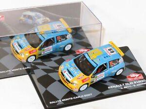 1/43 Renault Clio Super 1600  S1600  Rally Monte Carlo 2007  L.Betti / G.Agnese