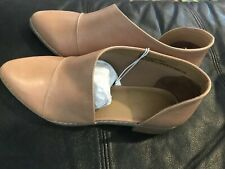 NWT NEW Women's Wenda Cut Out Bootie Universal Thread Size 11 Wide TAN