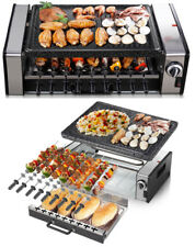Indoor Non Stick Barbecue Smokeless Electric Grill Griddle Portable Cooking BBQ