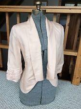 VELVET HEART Pink Jacket Bolero Lined Women's Size Small