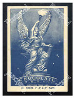 Historic Reviviscent Chocolate, 1890s. Advertising Postcard