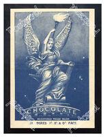 Historic Reviviscent Chocolate, 1890s. Advertising Postcard
